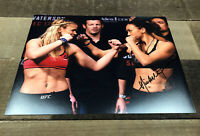 MICHELLE WATERSON HOTTIE UFC MMA FIGHTER SIGNED AUTOGRAPH 8x10 PHOTO B w/ PROOF