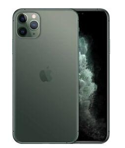 "Used apple iPhone 11 pro Max 64gb 256gb GSM CDMA unlocked black 5.8/6.5"" 4G LTE"