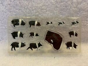 Woodland Scenics Scenic Accents Hampshire Pigs #A1864 HO Scale
