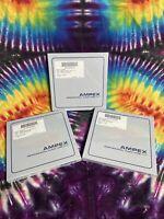 "Ampex 631 Professional Reel to Reel Audio Tape 1/4"" x 1200' on 7"" reel x3"