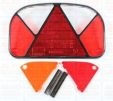 2 x Aspöck Lichtscheibe für Multipoint 2 Leuchte Ersatzglas für links & rechts