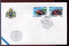 "32844) SAN MARINO 2002 FDC ""Uff. San Marino"" Poggiali W."