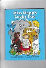 Miss Mopp's Lucky Day--Leslie McGuire--Jody Silver--hc---1stpr.1981---Parent