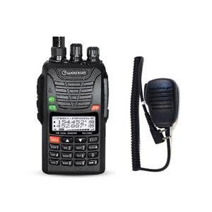 WOUXUN KG-UV6D-E L/H DUALBAND VHF LVHF 2/4m Lautsprechermikrofon
