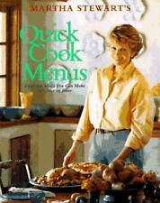 EXC÷COOKBOOK:MARTHA STEWART QUICK EASY COOK BOOK 52 MENUS-BUSY PEOPLE-UNDER 1 HR