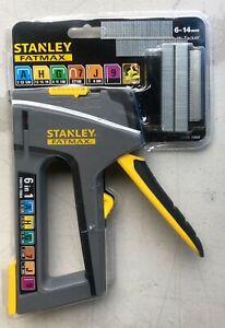 Stanley FMHT0-70868 TR75 6 In 1 Heavy Duty Stapler