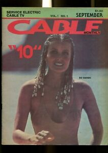 CABLE MONTHLY 1 (6.0) BO DEREK SEPTEMBER SERVICE ELECTRIC CABLE TV  (M000)