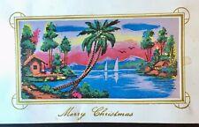 Vintage 1966 Vietnam War 196th Infantry Soldier's Christmas Card, Unique!