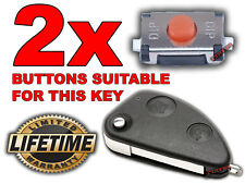 2x SWITCH BOUTON TELECOMMANDE CLE ALFA ROMEO 147 156 166 GT 2.0 JTD Q4 TWINSPARK