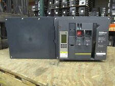Sq D NW40H Masterpact Breaker 4000A 3P 600V 6.0P Trip LSIG EO/DO Used E-Ok