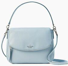 Kate Spade Jackson Pale Blue Leather Flap Shoulder Bag WKRU6249 NWT $379 MSRP FS