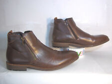 Mens Arider ANDREW-04 Zip-up Casual High-Top Cap Toe Shoes, Brown - Size 12!