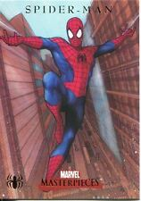 Marvel Masterpieces 2007 Spiderman Chase Card S1 Spiderman