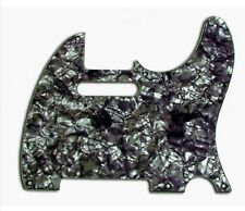 New Tele Pickguard BLACK PEARL 8 Hole 4 Ply for USA Fender Telecaster Guitar