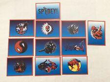 11 FIGURINE ADESIVE SPIDER-SENSE SPIDER-MAN  PANINI MARVEL lot 57
