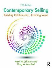 CONTEMPORARY SELLING - JOHNSTON, MARK W./ MARSHALL, GREG W. - NEW PAPERBACK BOOK
