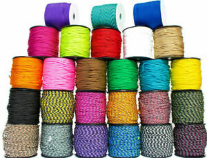 Paracord 2mm MicroCord   26 Farben   2/5/10/25/50 Meter