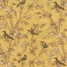 STRAW - Larkspur – 3 SISTERS – Moda – BIRDS YELLOW – FABRIC FQ