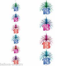 Bilanciere Multi Colore 18th Festa di Compleanno a cascata Colonna per appendere decorazione