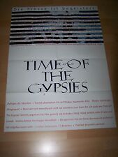 TIME OF THE GYPSIES - Kinoplakat A1 (A) ´91 - EMIR KUSTURICA