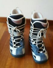Botas Snow Salomon Azul/Blanco