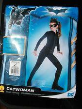 Girls 8-10 Child's CATWOMAN Costume Fancy Dress Outfit Rubies Batman halloween