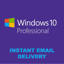 Windows 10 Pro 32/64BIT Professional Clé de licence Original code OEM-Scrap PC