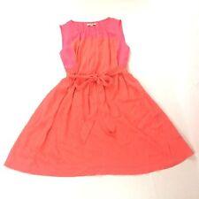 Madewell Women's XS Salmon Pink Sleeveless Dress