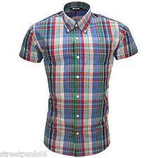 Camicie casual e maglie da uomo a manica corta Multicolore Aderente