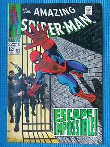 AMAZING SPIDER-MAN # 65 - (VF) -ESCAPE IMPOSSIBLE - KINGPIN - GWEN STACY