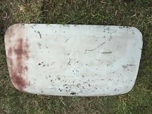 MG Midget, Austin Healey Sprite  boot or Trunk Lid with Late Style prop