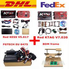 EU Red Kess V2 V5.017 + KTAG V7.020 2/4 LED+EU 0475 FGTECH Galletto 4 +BDM Frame