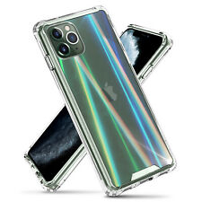 Prism Wave Super Clear Reinforced Hard Back Case Cover for iPhone 11 Pro Max XR