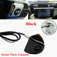 HD Night Vision Front Camera 170° CCD Car Frontview Parking Assistance Cam Black