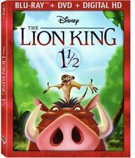 The Lion King 1 1/2 (Blu-ray Disc, 2017, 2-Disc Set, Includes Digital Copy)