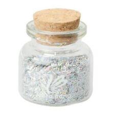 White Nail Art Glitter