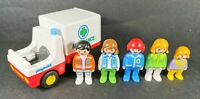 Playmobil 123 Vintage Ambulance Paramedic PlaySet with Figures