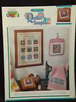 Quilter's Sampler Cross Stitch Leaflet by Color Charts