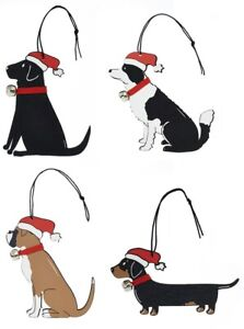 Christmas Tree Decoration   LABRADOR COLLIE BOXER DACHSHUND   Dog Tree Ornament