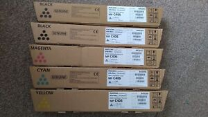 Ricoh MP C406 CYMK Toners