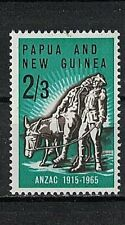 """PAPUA & NEW GUINEA:1965 SC#203 MNH """"Simpson and His Donkey"""" by Wallace Anderson"""