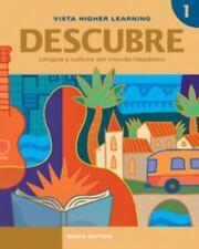 Descubre: La Lengua y Cultura del Mundo Hispánico 1 (2011, Vista, Media Edition)