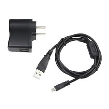 AC/DC Power Adapter Battery Charger USB Cord For Sony Cybershot DSC-W800 Camera