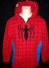 MENS MARVEL SPIDERMAN HOODIE  JACKET SIZE XL