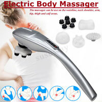 Handheld Electric Massager Body Neck Foot Vibrating Therapy Machine