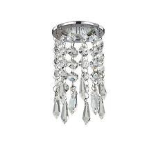 Faretto ad incasso moderno con cristalli trasparenti a 1 luce coll. Bossanova