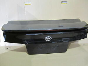 TOYOTA PASEO 96 REAR TRUNK LID w/ SPOILER w/ HIGH STOP LIGHT EMBLEM LATCH black