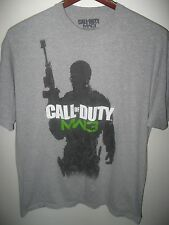 Call Of Duty MW3 Modern Warfare 3 Shooter Video Electronic Game Gamer T Shirt XL