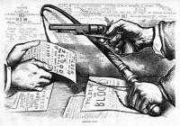 TILDEN OR BLOOD 1877 HAYES AND WHEELER POLITICAL OFFICE