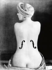 MAN Ray le violon dingres, 1924 poster stampa d'arte immagine 80x60cm-germanposters